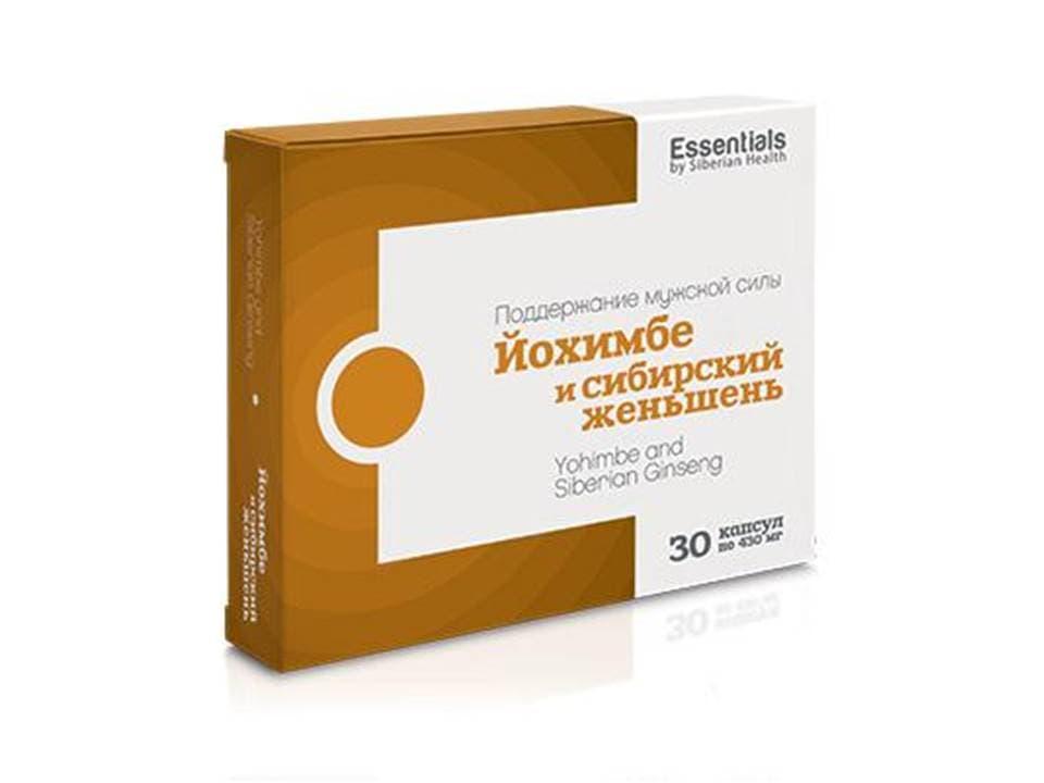 Бад essentials. йохимбе и женьшень: показания и противопоказания, инструкция по применению, цены и отзывы. сибирское здоровье.