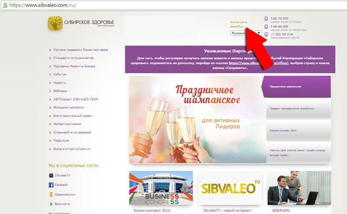 Купить продукцию Сибирского здоровья через интернет