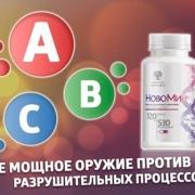 Антиоксидантный комплекс. Новомин.